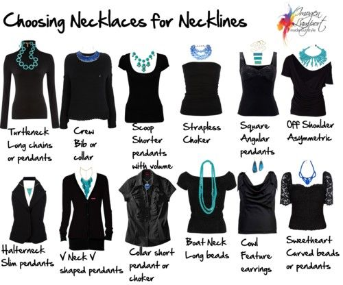 How To Pick A Necklace That Compliments Your Neckline - the wedding brigade