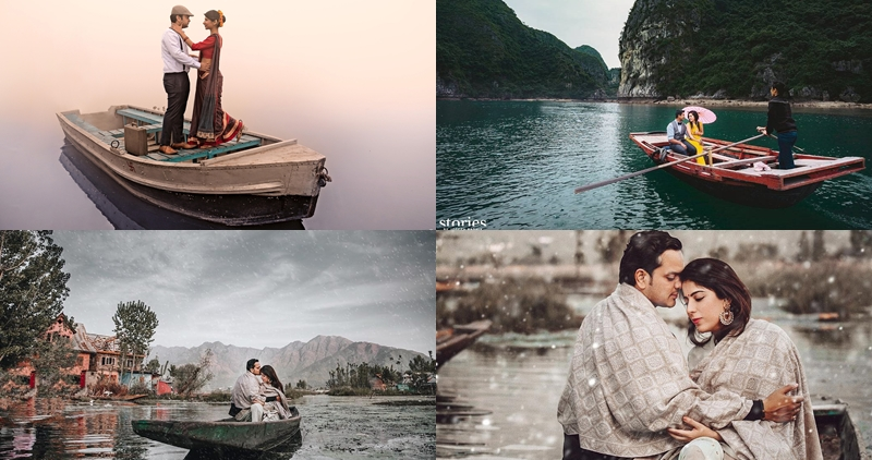 couples on a boat