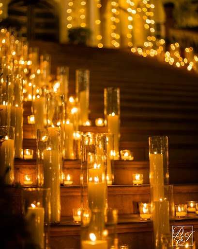 easy candle light decor
